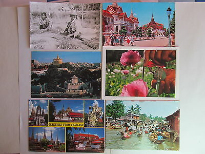 Postcard Thailand - lot of 6 postcards - USED - PC-2056