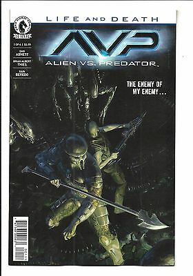 ALIENS vs. PREDATOR: LIFE AND DEATH # 1 (of 4, DEC 2016), NM NEW