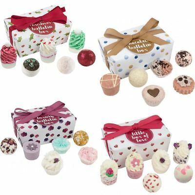 Bomb Cosmetics Luxury Wrapped Ballotin Gift Pack Bath Bombs Inc New Xmas Set