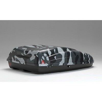 Car Roof Box Helios Camo 330 Litre Capacity (Lockable) Roofbox