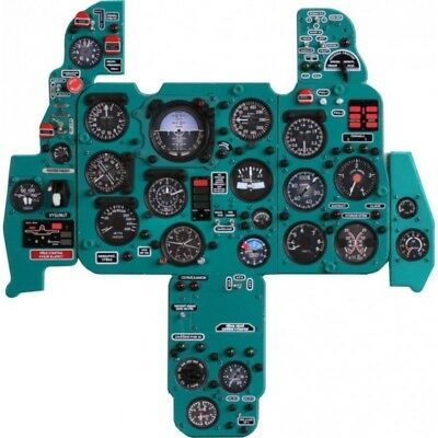 Mikoyan MiG21F Instrument Panel 1/4 Scale. (Factory Built)