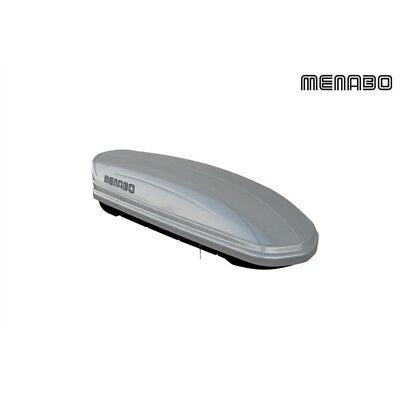 Menabo Mania Roof Box Litre Capacity 320 Litres Ps Silver