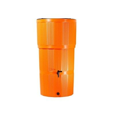 Water Butt/ 150 Litre Rattan Orange