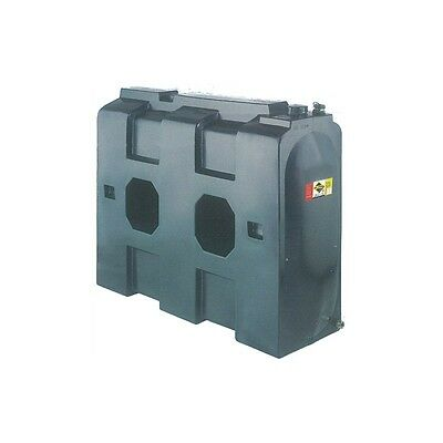 Plastic Home Heating Oil Tank Rectangle Green 630 Litre