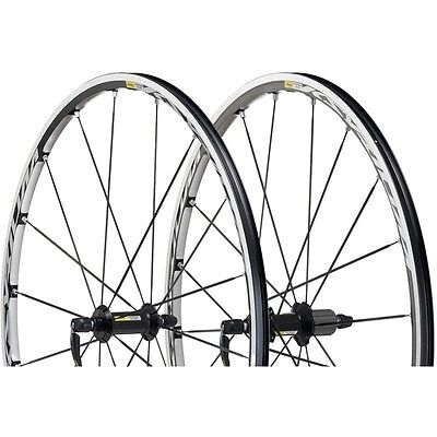 Mavic Ksyrium Elite Road Wheelset 700 Black Hub 2016