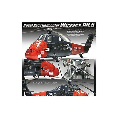 Royal Navy Wessex Uh.5 Helicopter 1/48 Model Kit
