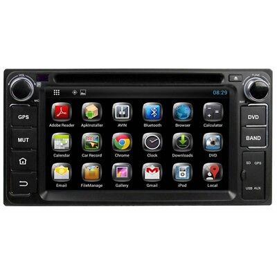 Android Dvd Player Universal For Toyota Cars And Jeeps Double Din