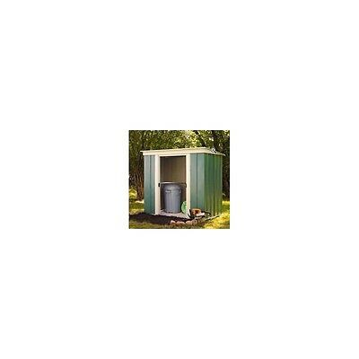 OldFields Metal 6X4 Tall Pent Shed Sliding Doors