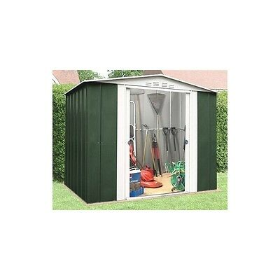 OldFields Metal 8X9 Metal Shed With Sliding Doors