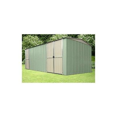 Workshop Shed OldFields Metal 10X19