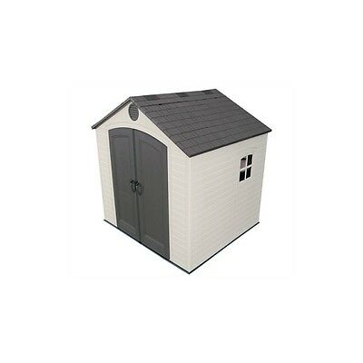 8X7.5 Lifetime Shed With Floor.