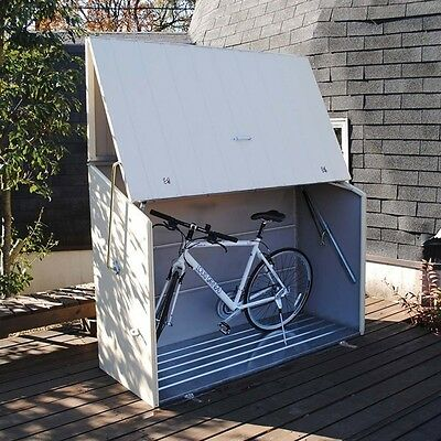 Trimetals Sesame Bike Storage Unit With Full Opening (Spring Mech)