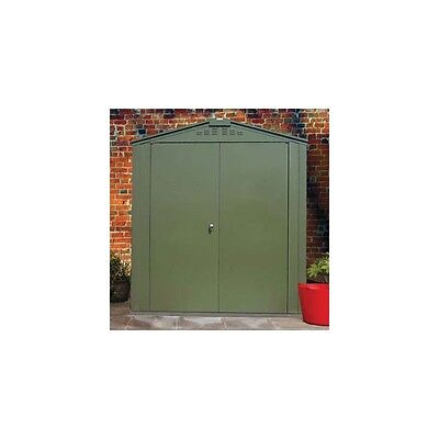 Trimetals Security Shed 6X8 T680 With 2 Doors and No Windows