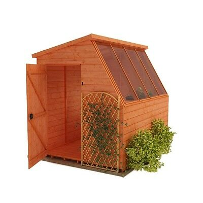 Garden Potting Shed 8X10 Wood. Collected in Newbridge