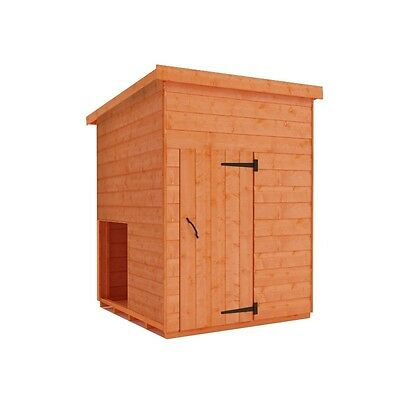 Dog Kennel House 4X4 Shiplap Dog House On Its Own