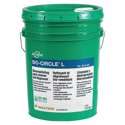 BIO-CIRCLE Parts Washer Clean Solution, 5.2 gal 55A007