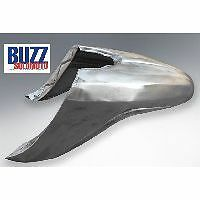 Front Mudguard in Bare Metal to fit Lambretta SX TV and LI Special
