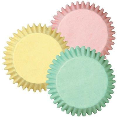Wilton Pastel Cupcake Cases 60 Pack Muffins Baking Holders Liners Party Bakeware