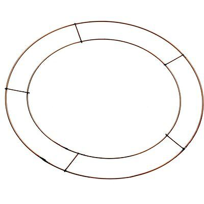 Wire Wreath Frame 30.5 cm Christmas Halloween Ring Home Decoration Craft
