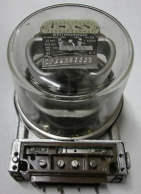 Vintage Westinghouse Power Meter 240 Volts Model Ca
