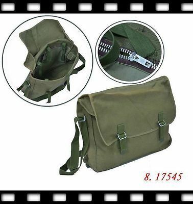 WW2 Vintage Chinese Communication Packet Messenger Pilot Briefcase Canvas Bag