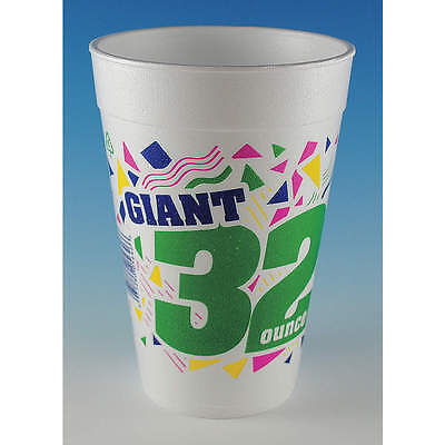 WINCUP 32 oz. Disposable Cold/Hot Cup,  Foam,  White,  PK 500 C3234 PP
