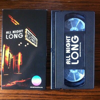 All Night Long ~ Skateboard Video by Island Productions 2003 VHS