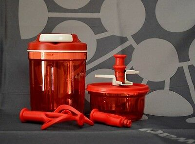 Original Tupperware Speedy Set rot