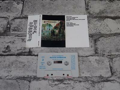 BLACK SABBATH - Self Titled / Cassette Album Tape / UK Early Issue / A3066