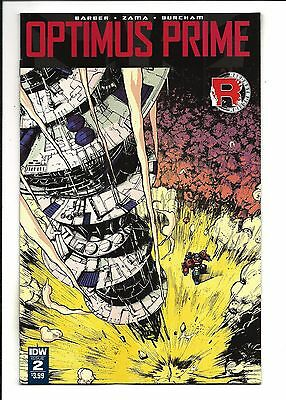 OPTIMUS PRIME # 2 (DEC 2016), NM NEW (Bagged & Boarded)