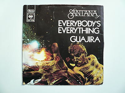 45 giri - Vinile - Santana - Everybody's Everything - Guajira
