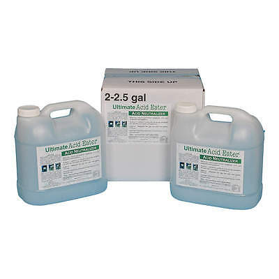 ULTIMATE ACID EATER Chemical Neutralizer, Acids, 2.5 gal., PK2 2001-025