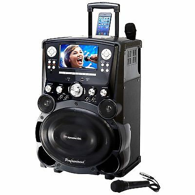 "KARAOKE GP978 Professional DVD/CDG/MP3G Karaoke Player with 7"" Colour screen"