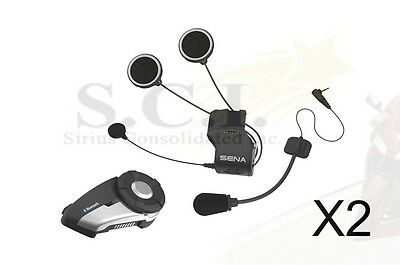 SENA 20S DUAL PACK - Powersports Bluetooth 4.1 communication system SET OF 2