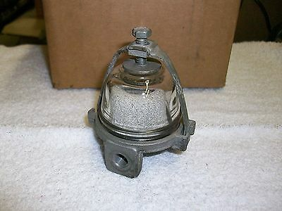 Vintage, Carter Fuel Filter with Glass Bowl & Stone Filter 2146397
