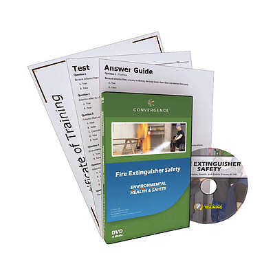 CONVERGENCE TRAINING Training DVD, Eng, Fire Extinguisher Sfty 127