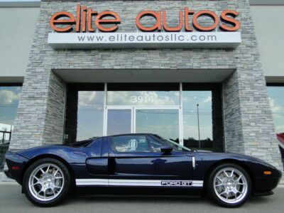 2005 Ford Ford GT GT40 ONLY 3k miles RARE MIDNIGHT BLUE with WHITE STRIPES Grey calipers BBS WHEELS