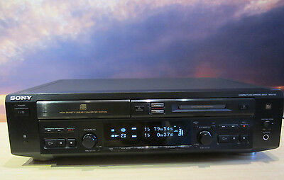 Sony MXD-D3 CD-Player & MiniDisc Recorder, CD-Text mit FB + Bedienungsanleitung