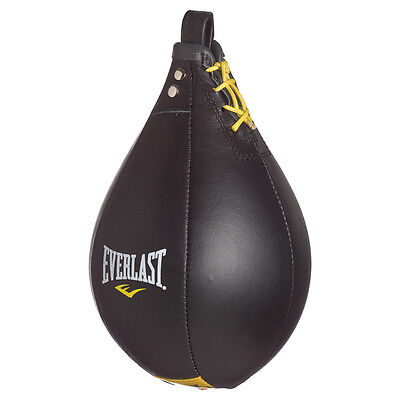Everlast Leather Speed Bag Speed Ball Boxing Training