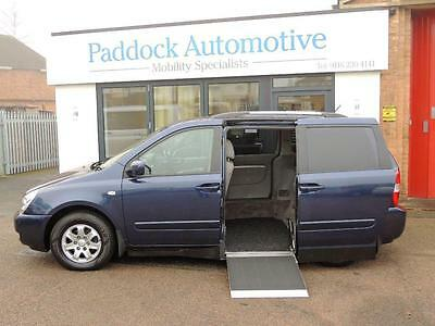 Kia Sedona 2.9 Side Entry Automatic Disabled Wheelchair Adapted Vehicle WAV