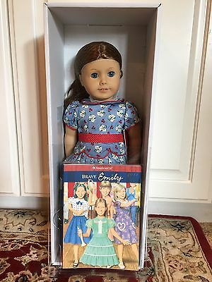 New American Girl Doll Emily with Book Friend of Molly  New In Box Retired
