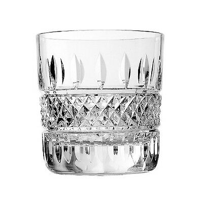 Waterford Crystal Irish Lace Double Old Fashioned Set of 2