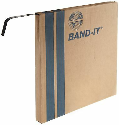 "BAND-IT Coated Band AE4339 316 Stainless Steel 3/8"" wide x 0.045"" thick with ..."