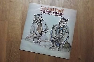 Spooky Tooth Ft Mike Harrison - The Last Puff, Pink island ILPS 9117 VG/VG