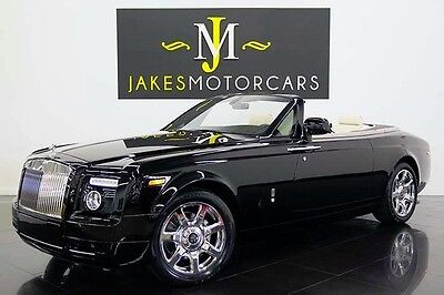 2011 Rolls-Royce Phantom Drophead Coupe Convertible 2-Door 2011 ROLLS-ROYCE PHANTOM DROPHEAD, BLACK ON IVORY, 1-OWNER! SERVICED! PRISTINE!