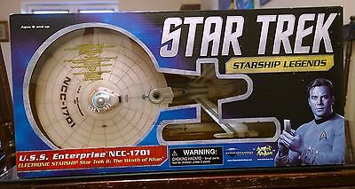 Star Trek Enterprise Diamond Select Ncc-1701 Wrath Of Khan First Release
