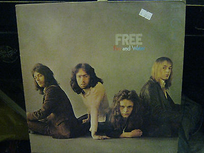 "Free  Fire And Water  12"" Vinyl Lp  Album / Ilpm 9120"