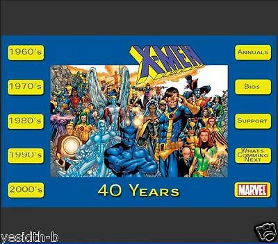 X-Men 40 Years Collector's Edition (DVD9) DVD-ROM