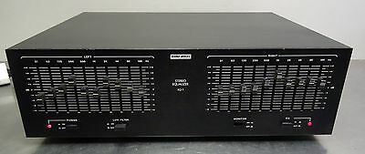 Vintage hifi - Audio Reflex EQ 1 Stereo Graphic Equalizer