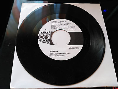 Promo Single Sided Norman - Candy - Don Disco Spain 1988 Vg+